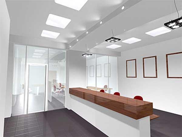 Потолочные офисные светодиодные светильники